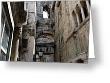 Split Croatia's Old Town Greeting Card