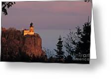 Split Rock Lightghouse - Fs000635 Greeting Card