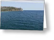 Split Rock Lighthouse 80 Greeting Card