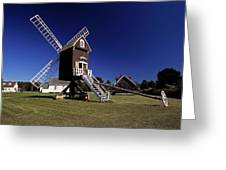 Spocott Windmill Greeting Card