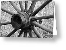 Spokes Greeting Card by Ernie Echols
