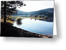 Spooner Lake Shadows Greeting Card