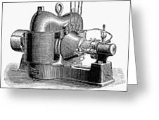 Sprague Motor, C1890 Greeting Card
