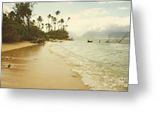 Sprecks Beach Greeting Card