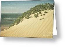 Sprecks - The Dunes Greeting Card