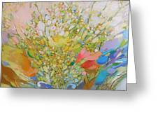 Spring - Square Painting Greeting Card