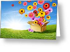 Spring Delivery Greeting Card