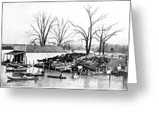 Spring Flood, 1903 Greeting Card