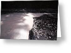 Spring Flood Foam Bath Greeting Card