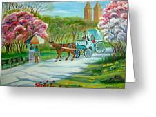 Spring In New York Greeting Card
