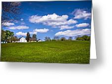 Spring In Shaker Village Greeting Card