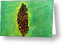 Spring Pine Greeting Card