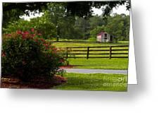 Spring Ranch Greeting Card