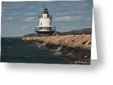 Springpoint Ledge Light House Greeting Card