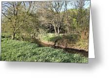 Springtime Meadow Greeting Card