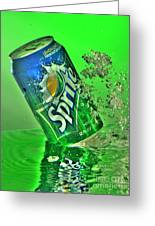 Sprite Splash Greeting Card