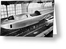 Spruce Goose Hull Construction Greeting Card