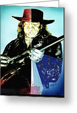 SRV Greeting Card by Kathleen Kelly Thompson