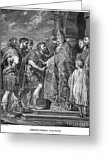 St. Ambrose & Theodosius Greeting Card