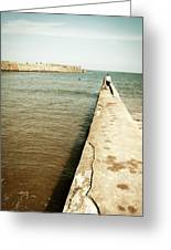 St Andrew's Harbour Greeting Card