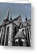St. Bartholomew Cathedral - Pilsen Greeting Card