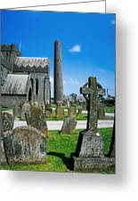 St. Canices Cathedral, Kilkenny City Greeting Card