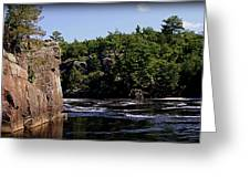 St. Croix River Bluffs  Greeting Card