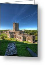 St Davids Cathedral 3 Greeting Card
