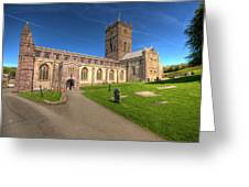 St Davids Cathedral 5 Greeting Card