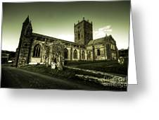 St Davids Cathedral Greeting Card