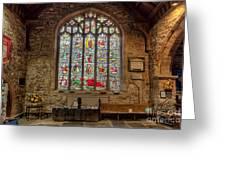 St Dyfnog Church Greeting Card