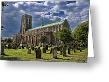 St Edmund King And Martyr Southwold Greeting Card