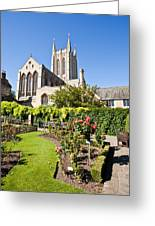 St Edmundsbury Cathedral Greeting Card