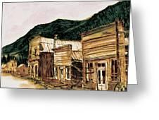 St. Elmo Nevada Greeting Card