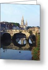St. Finbarres Cathedral, Cork, Co Cork Greeting Card