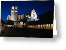St. Francis Basilica Greeting Card