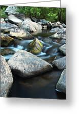St Francis River At Dusk I Greeting Card