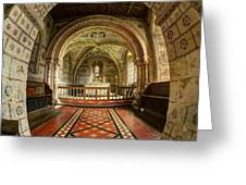 St Georges Church At Hampnett Gloucestershire Greeting Card