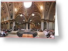 St James Cathedral Greeting Card