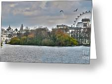 St. James Park In London Greeting Card