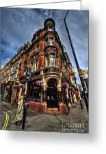 St James Tavern - London Greeting Card