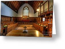 St John's Church Altar - Filey  Greeting Card