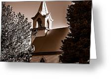 St. John's Lutheran Church In The Trees Greeting Card