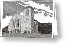 St. Joseph Apache Cathedral Greeting Card