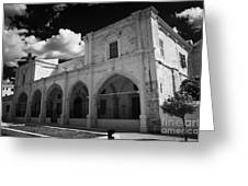 St Josephs Convent And Catholic Church St Joseph De L Apparition Larnaca Republic Of Cyprus Greeting Card by Joe Fox