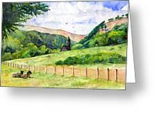 St. Kevin's And Wicklow Mountians Greeting Card