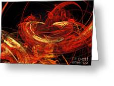 St Louis Abstract Greeting Card