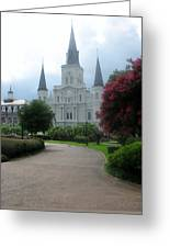 St. Louis Cathedral Ll Greeting Card