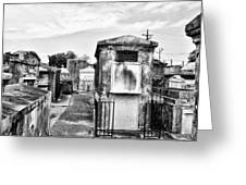 St Louis Cemetery - New Orleans Greeting Card