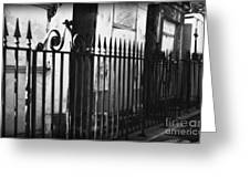 St Louis Cemetery Number One Tombs And Wrought Iron Greeting Card